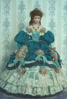 history miniature dolls