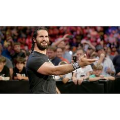 Photos: Shield comes together for talk show reunion ❤ liked on Polyvore featuring home, home decor and wwe
