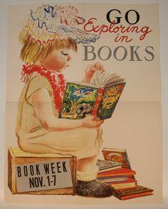 Go exploring in books.