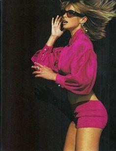 Elle (US) January 1991 | Niki Taylor