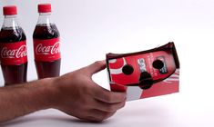 Make your own VR goggles out of Coca-Cola cardboard packaging  #Tech_news #Tech…