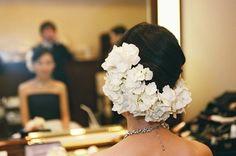 新郎新婦様からのメール あやねこのウエディング・ダイアリー2 帝国ホテル様へ : 一会 ウエディングの花