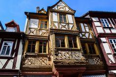 Fachwerkgebäude in Miltenberg am Main  ... #fachwerk #miltenberg #main #churfranken #franken
