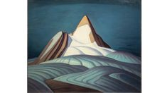 Lawren Harris 'Isolation Peak, Rocky Mountains' 1930 Oil on canvas Univ of Toronto Tom Thomson, Emily Carr, Canadian Painters, Canadian Artists, Rocky Mountains, Group Of Seven Artists, Lauren Harris, Kunsthistorisches Museum, Art Gallery Of Ontario