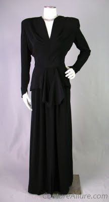 aussieadoptee: New at Couture Allure - Vintage Evening Gowns & Dresses