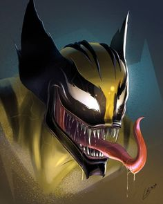 Likes, 284 Comments - Marvel Art Venom, Venom Comics, Marvel Venom, Marvel Villains, Marvel Comics Art, Marvel Characters, Marvel Heroes, Logan Wolverine, Yuyu Hakusho