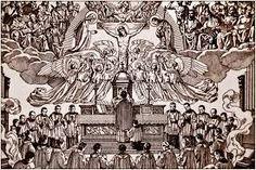 Resultado de imagem para ilustração missa tridentina