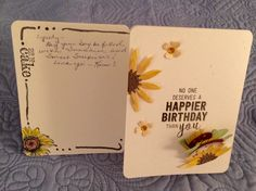 Sunflowers and Tacos Birthday Card