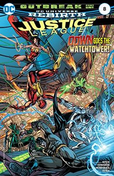 Justice League (2016-) #8 by Bryan Hitch