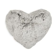 Heart Fur Scatter Cushion