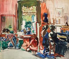 Frances Hodgkins' The Piano Lesson