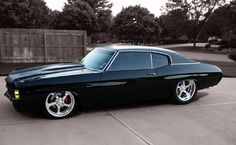 The bonspeed Chevelle. Same year and same color as mine, I just need to come up with 4000 dollars for the wheels