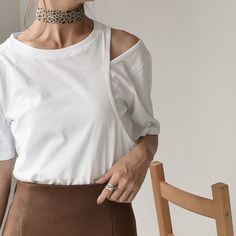 Summer Tops, Women's Fashion, Detail, Sewing, Knitting, Long Sleeve, Sleeves, T Shirt, Style
