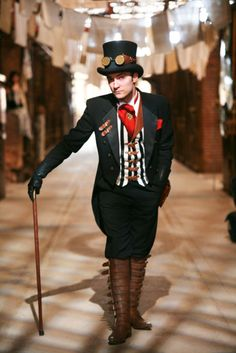 Awesome Guy Costume  Steampunk Society
