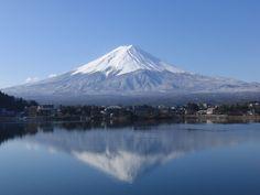 Mt. Fuji from Kawaguchi-ko Lake