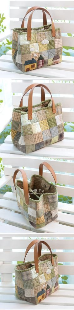 Borse E Patcwork Woman Accessories wonder woman accessories india Sacs Tote Bags, Quilted Tote Bags, Patchwork Bags, Patchwork Quilting, Sewing Crafts, Sewing Projects, Bag Patterns To Sew, Fabric Bags, Handmade Bags