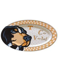 Memory Company Tennessee Volunteers Oval Platter - Assorted