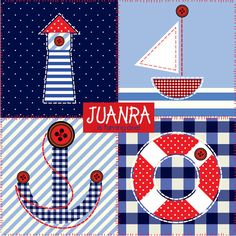 cute NAUTICAL art