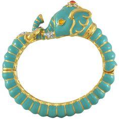Kenneth Jay Lane Double Lion Head Bracelet ($189) ❤ liked on Polyvore featuring jewelry, bracelets, cabochon jewelry, kenneth jay lane jewelry, lion bracelet, lion jewelry and cabochon bracelet