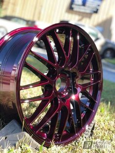 Powder Coated in ILLUSION MALBEC and CLEAR VISION. See more of RIMGUARD INCORPORATED projects at PrismaticPowders.com along with 1,000's of other Powder Coating projects.