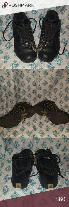 Adidas Tracy McGrady Tracy McGrady Adidas Worn a few times Excellent condition Kids size 6.5  Fit women size 7-8 Adidas Shoes Sneakers