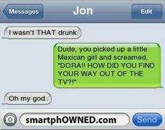 Hahaha dora