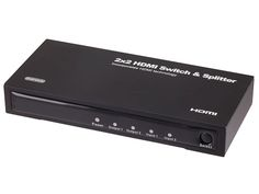 #DailyDeal, 11/06/14: Over 20% off 2x2 Matrix HDMI® Switch & Splitter for only $29.90 Switch, split, and amplify your #HDMI® signal with this Monoprice #Switch/ #Splitter!