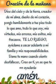 #oraciondelamañana #oraciondeldia n día sin la oración no es un dia completo Amén