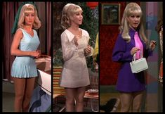 Barbara Eden as Jeannie - I-Dream-Of-Jeannie - In Fab Mini Dresses :)