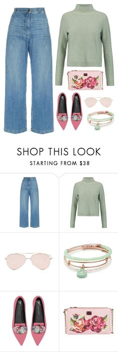 """""""Fall Colors"""" by piedraandjesus on Polyvore featuring Rachel Comey, Tory Burch, Steve Madden, Alex and Ani, Giuseppe Zanotti, Dolce&Gabbana and Fall"""