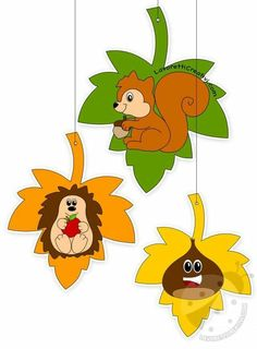 Easy Fall Crafts, Fall Crafts For Kids, Paper Crafts For Kids, Summer Crafts, Felt Crafts, Holiday Crafts, Fall Classroom Decorations, Balloon Template, Hedgehog Craft