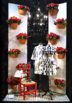 "DOLCE & GABBANA, ""è arrivata la primavera"",(Spring has arrived), pinned by Ton van der Veer"