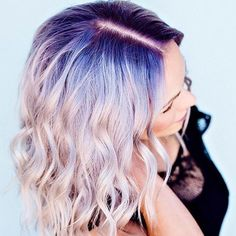 'Shadow roots' are the latest slummy chic beauty trend… but it's only for the brave #hair