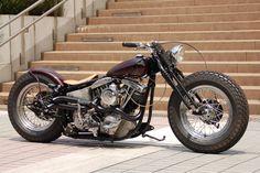Harley Davidson FLH1200 1971 By Reserve Custom Motorcycle