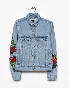 Jean jacket - Jackets & Coats - Bershka Spain