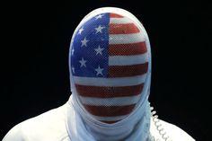 U.S. fencer Seth Kelsey looks on during his match against Estonia's Nikolai Novosjolov in the men's individual epee fencing competition at the 2012 Summer Olympics.