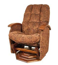 Jake's Amish Furniture - #NP-197 Swivel Glider Recliner