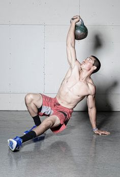 Crossfit...the Turkish get up!