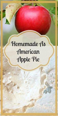 Homemade As American Apple Pie