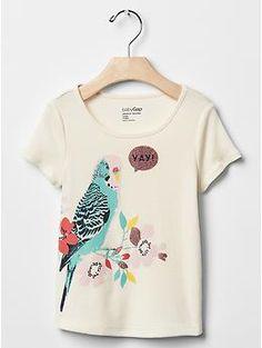 ☆★☆GAP parakeet shirt