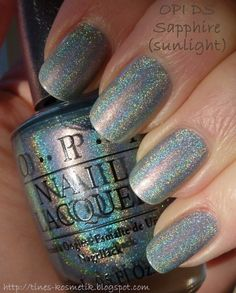 Tines Kosmetikblog: OPI DS Sapphire