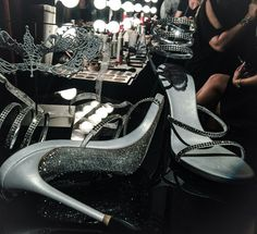 Fifty Shades Darker masquerade ball shoes from Ana
