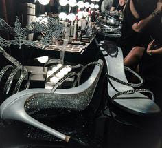 Fifty Shades Darker masquerade ball shoes from Ana