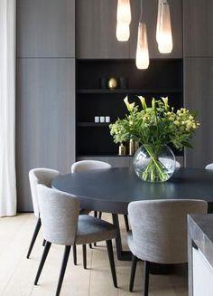 Luxury Dining Room, Dining Room Lighting, Dining Room Design, Luxury Dining Tables, Modern Dining Table, Dining Table Chairs, Modern Dining Room Sets, Contemporary Dining Rooms, Elegant Dining