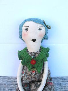 Isabella : Handmade Rag Doll One of a Kind 22 by palomitaragdolls