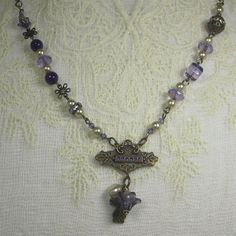 Vintage Style Necklace - very Downton Abby