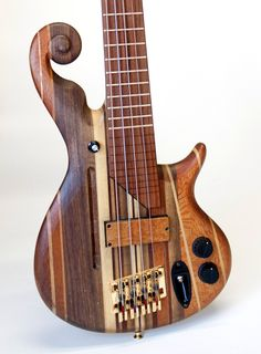 Custom Electric Bass with unique Innovations. $4,200.00, via Etsy.