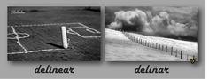 Zarampagalegando: Parellas imposibles. Delinear/Deliñar