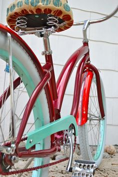 Cranapple Beach Cruiser Bike by Villy Custom Cruisers
