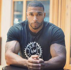 A Collection of Handsome, Masculine, & Sexy Men Hot Black Guys, Fine Black Men, Gorgeous Black Men, Handsome Black Men, Beautiful Men, Handsome Man, Dark Man, Eye Candy Men, Man Candy